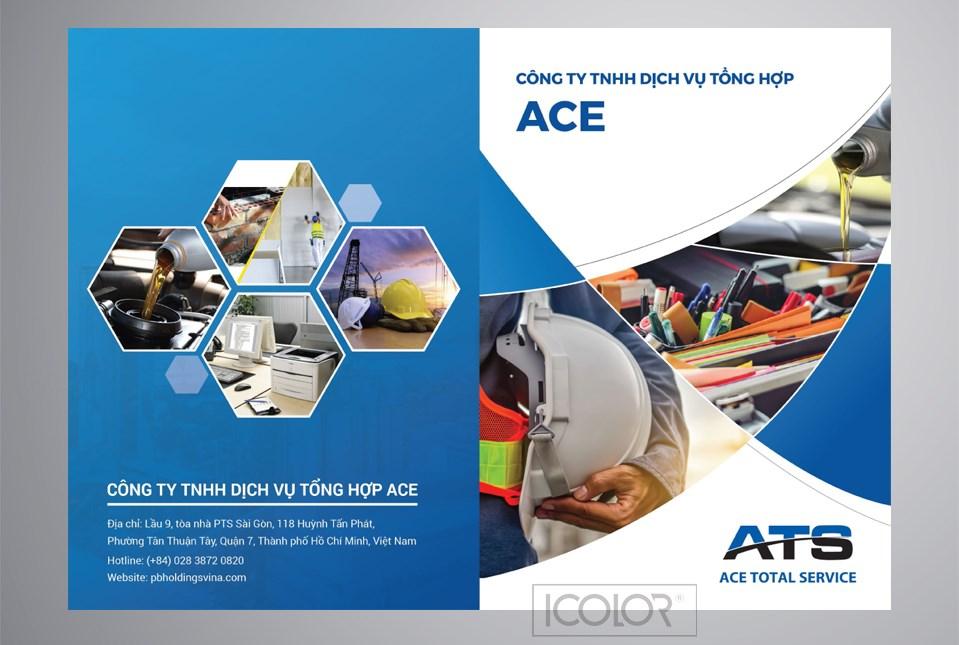 Thiết kế profile | Hồ sơ năng lực CT Tổng hợp Dịch vụ ACE