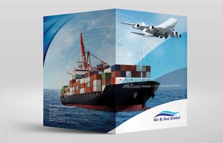 Thiết kế kẹp file Công ty AIR & SEA GLOBAL