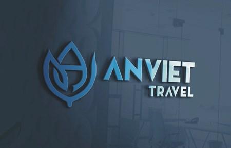 Thiết kế logo CTCP Du lịch Quốc tế An Việt