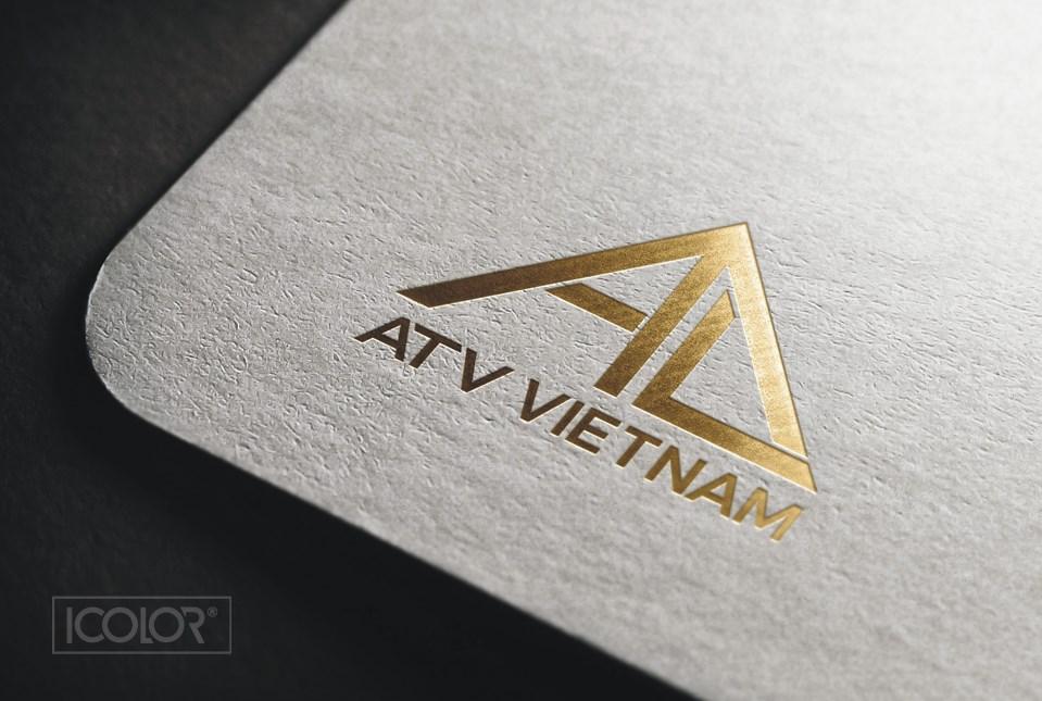 Thiết kế logo Công ty ATV Việt Nam