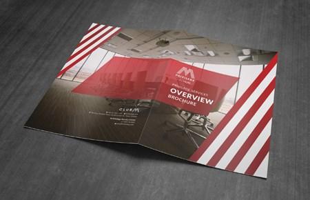 Thiết kế brochure Công ty Club M