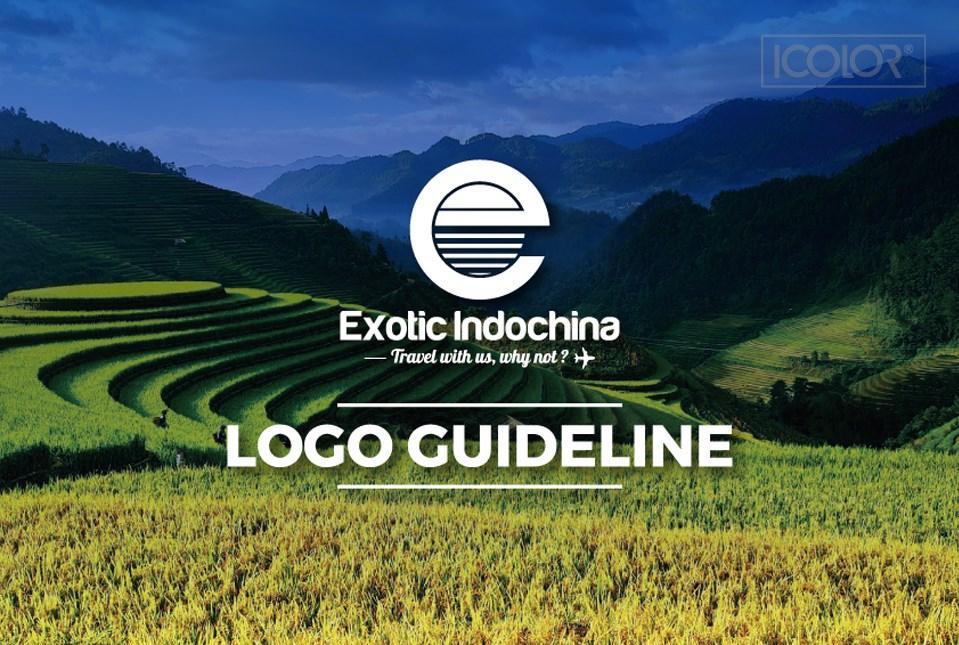 Thiết kế logo Exotic indochina