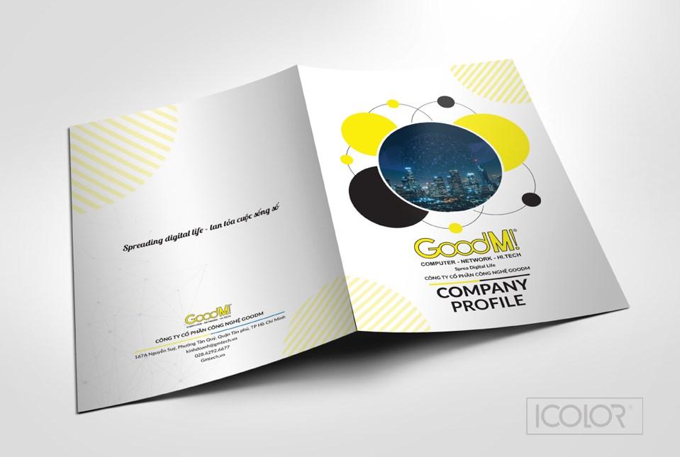 Thiết kế profile   hồ sơ năng lực CTCP Công nghệ GOODM
