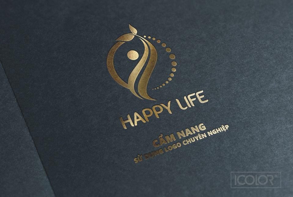 Thiết kế logo Trung tâm Happy Life
