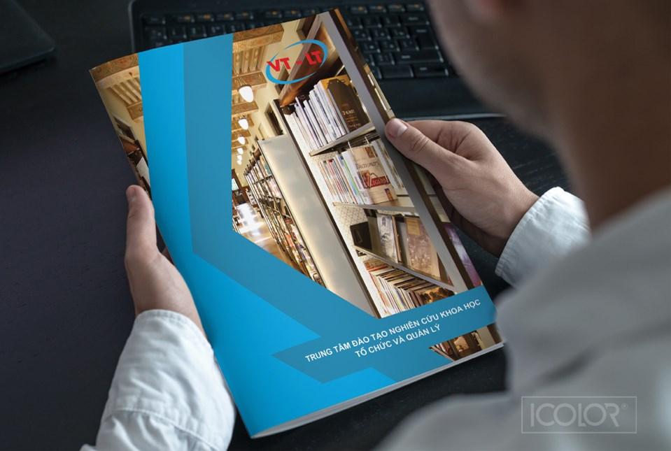 Thiết kế profile | hồ sơ năng lực TT Đào tạo Nghiên cứu KH Tổ chức và Quản lý