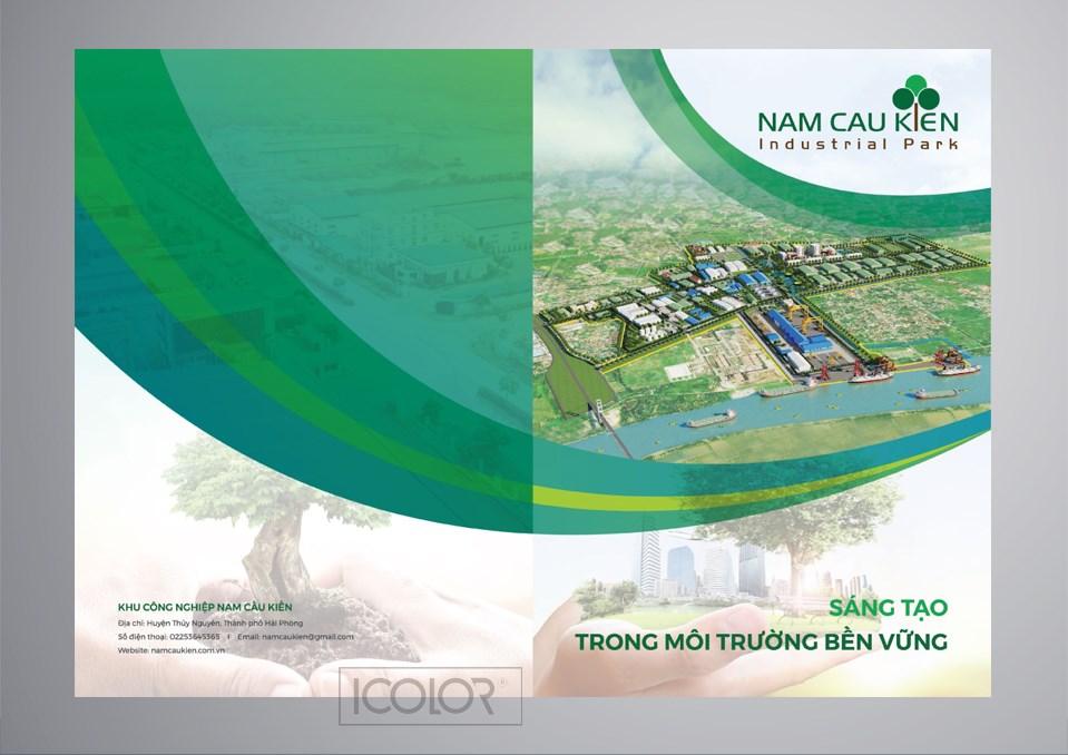 Thiết kế profile | hồ sơ năng lực Khu CN Nam Cầu Kiến