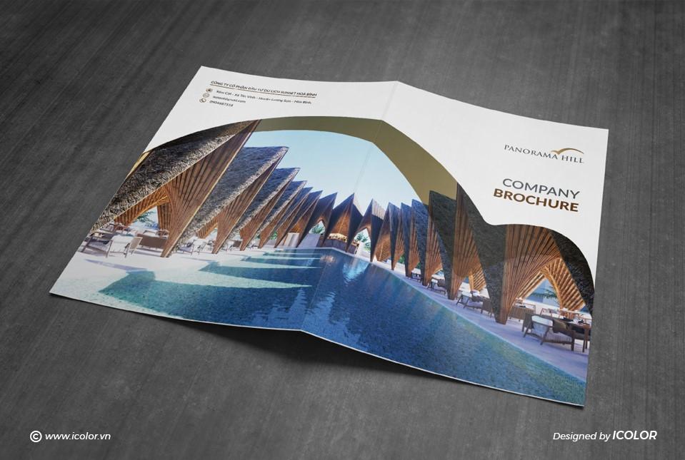 Thiết kế profile CTCP Đầu tư Du lịch Sunset Hòa Bình