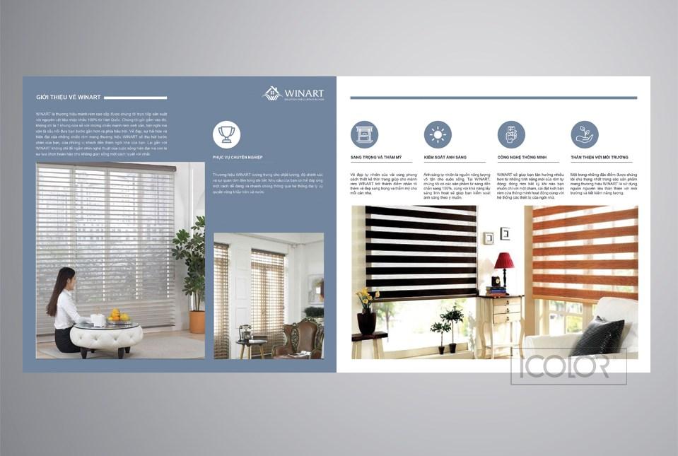 Thiết kế Brochure CT Cổ phần Winart