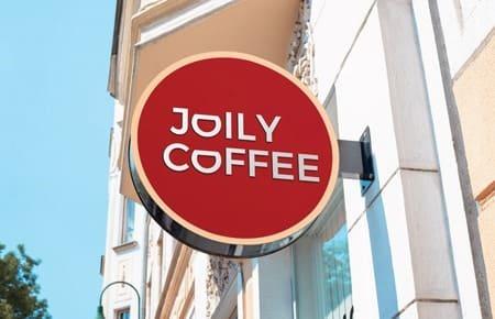 Thiết kế bộ nhận diện thương hiệu cửa hàng Joily Coffee