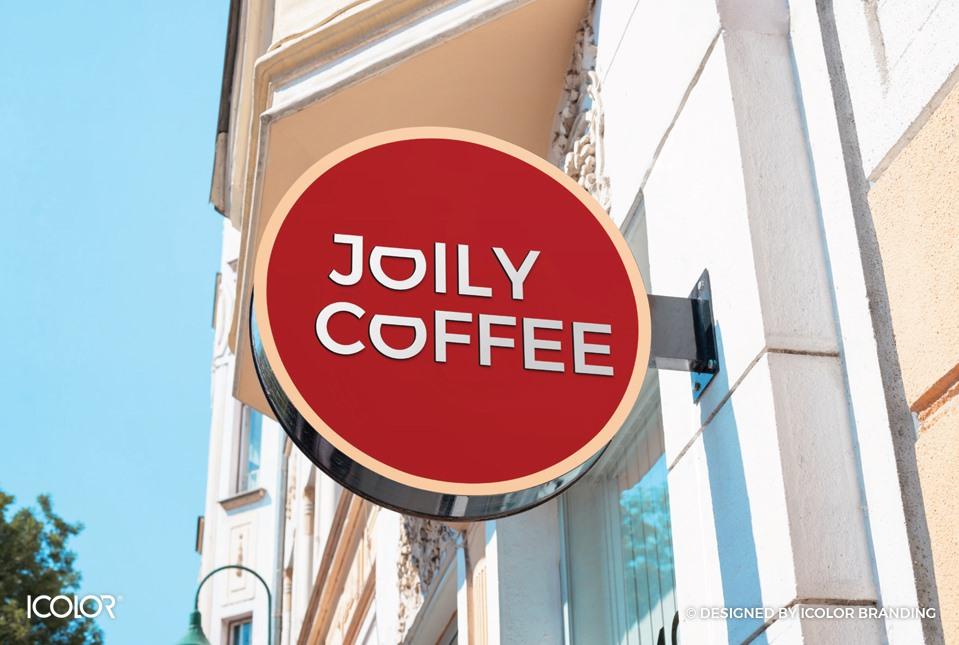 Thiết kế logo thương hiệu chuỗi cửa hàng Joily Coffee
