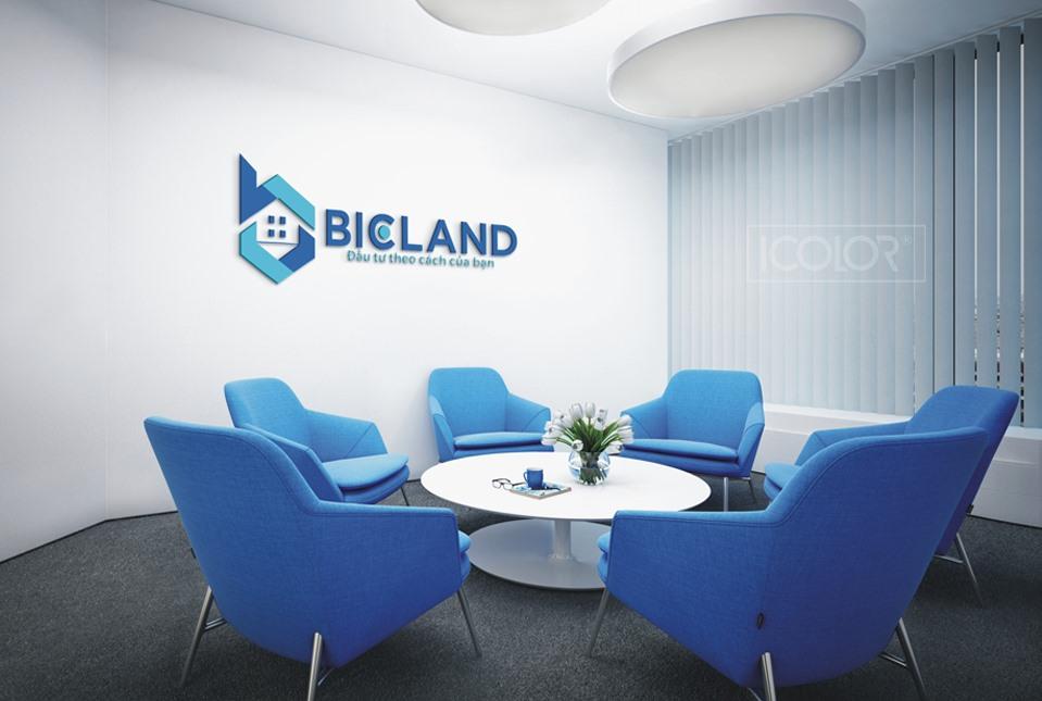 Thiết kế logo CTCP Bất động sản BIGLAND