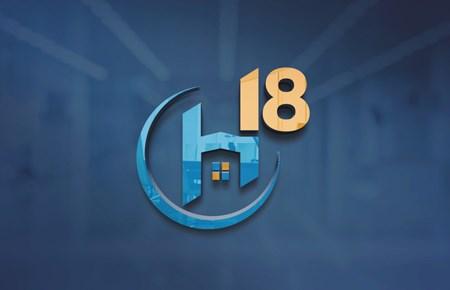 2021 Thiết kế logo công ty cổ phần Đầu tư H18