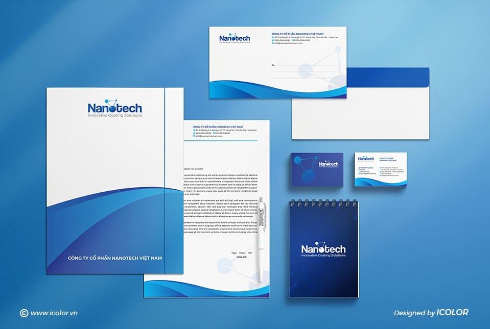 Thiết kế logo công ty cổ phần Nanotech Việt Nam