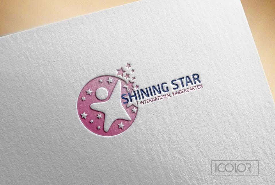 Thiết kế logo Trường mầm non Shining Star 2021