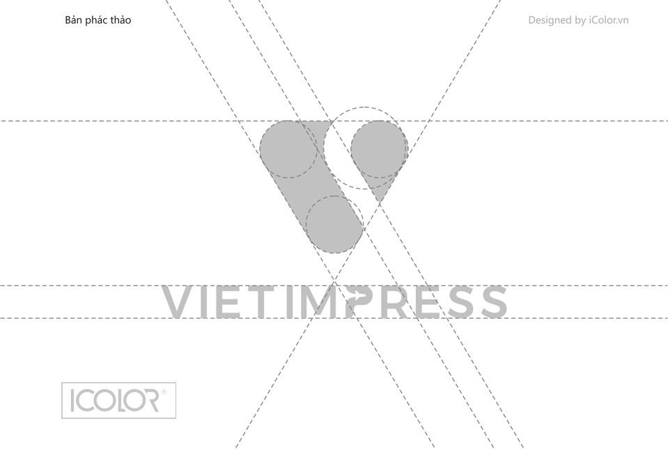 Thiết kế logo CTCP Du lịch và DV Ấn Tượng Việt