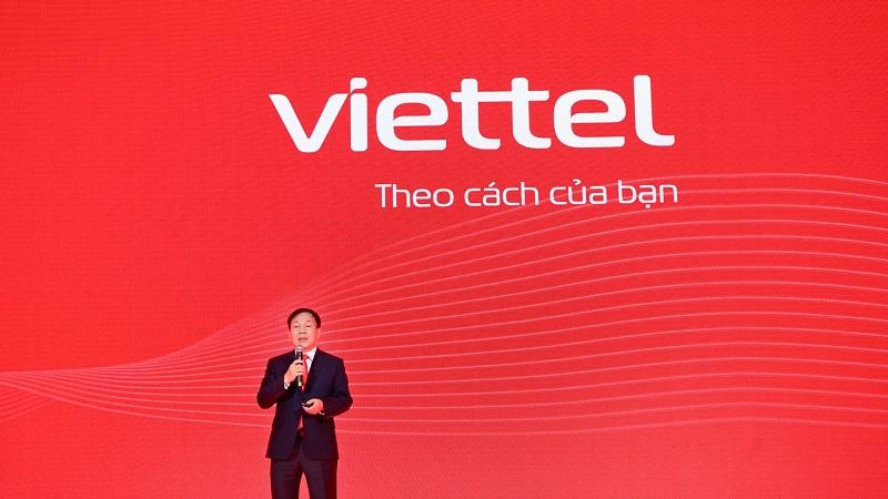 Logo Viettel thay áo mới