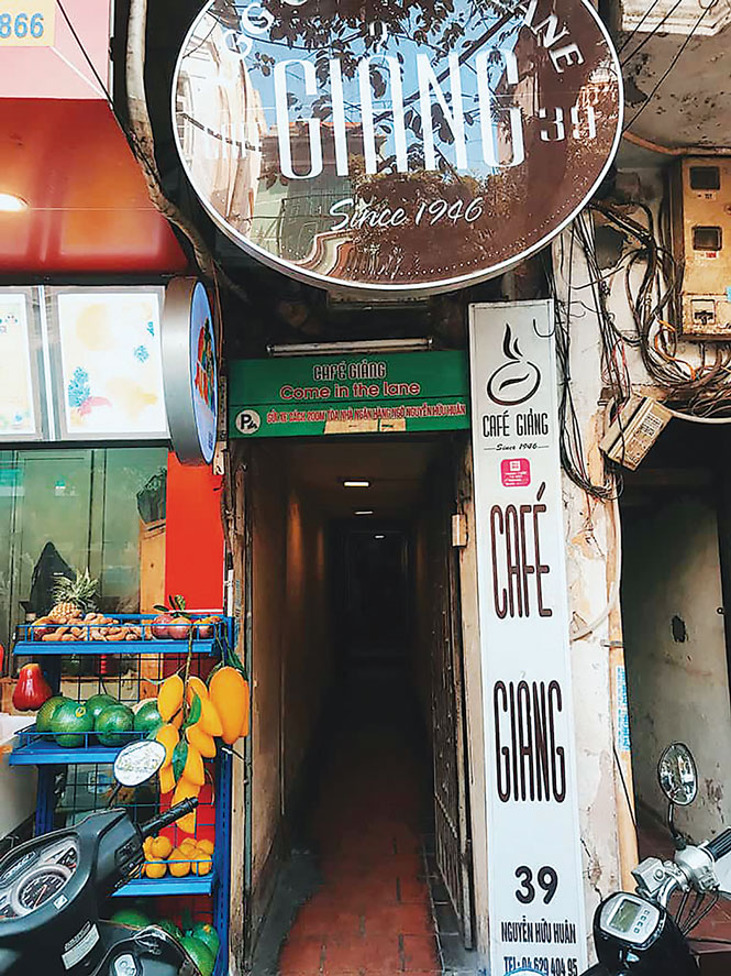 Bộ nhận diện thương hiệu cà phê Giảng