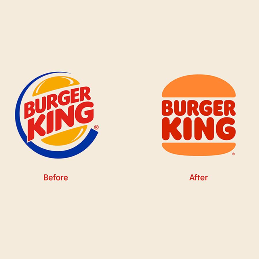 Burger King thay đổi bộ nhận diện bằng cách cải tiến logo