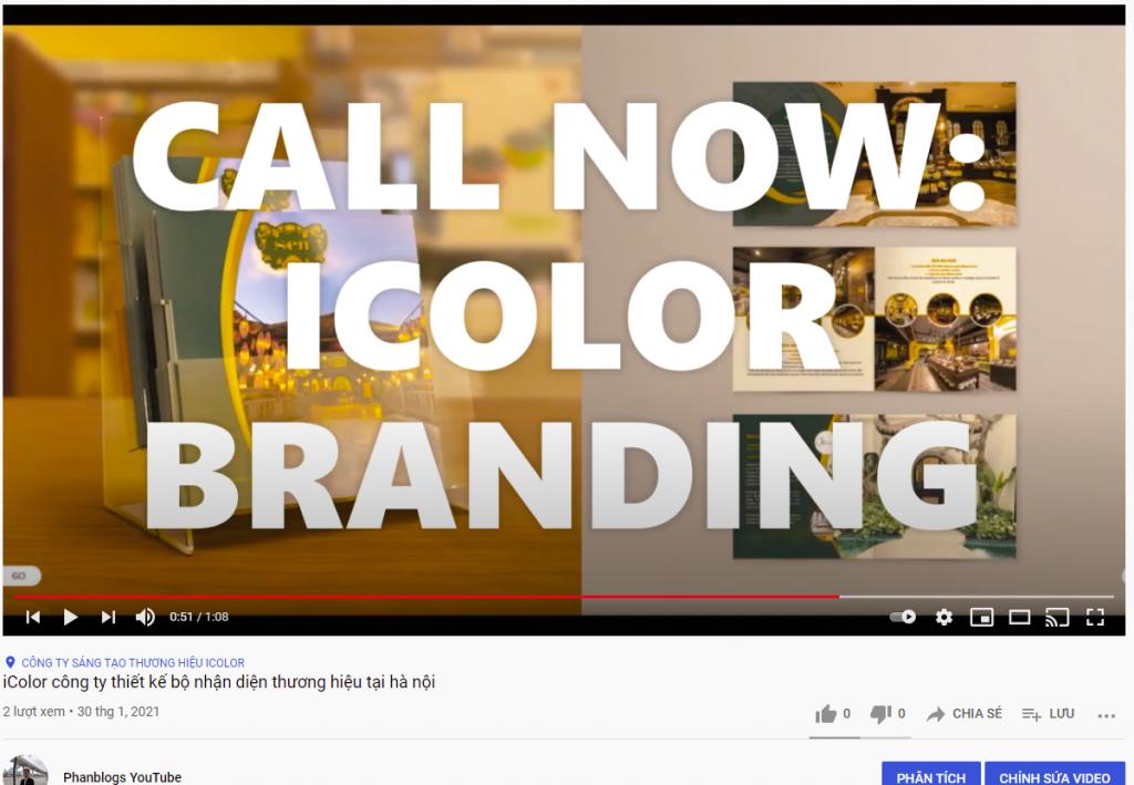 Công ty thiết kế bộ nhận diện thương hiệu