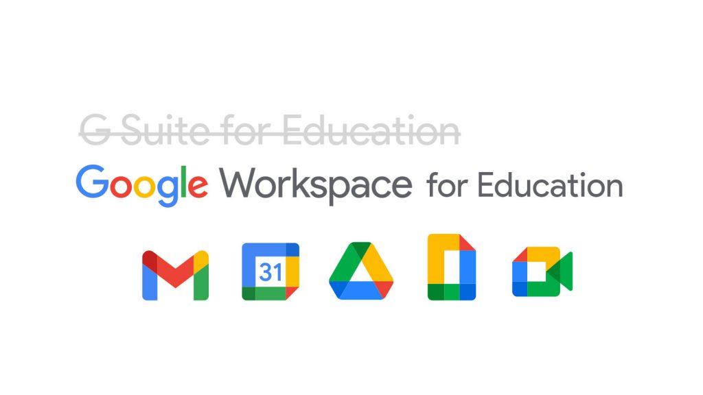 Google Workspace for Education thay đổi nhận diện thương hiệu