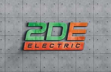 Thiết kế logo Công ty Cổ phần 2DE Việt Nam