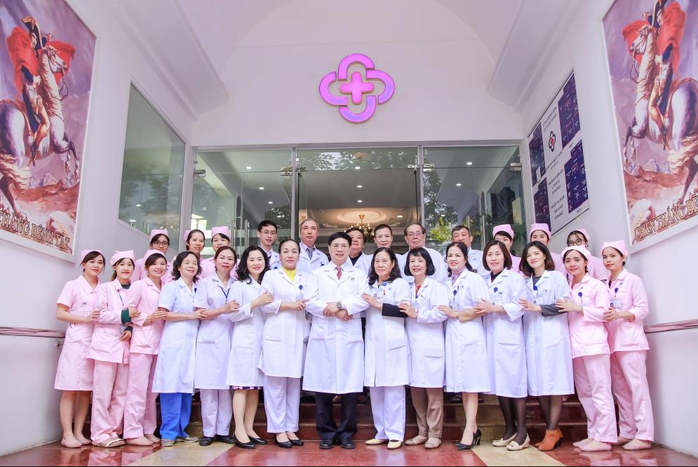 Bệnh viên đa khoa Hà Nộitọa lạc tại 29 Hàn Thuyên, Q Hai Bà Trưng,Tp Hà Nội công bố nhận diện thương hiệu mới