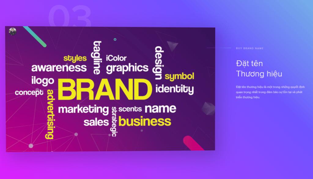 Đặt tên Thương hiệu Đặt tên thương hiệu là một trong những quyết định quan trọng nhất trong đảm bảo sự tồn tại và phát triển thương hiệu.