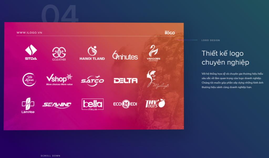 Thiết kế logo chuyên nghiệp Với hệ thống họa sỹ và chuyên gia thương hiệu hiểu sâu sắc về tầm quan trọng của logo doanh nghiệp. Chúng tôi muốn góp phần xây dựng những hình ảnh thương hiệu sánh cùng doanh nghiệp bạn.