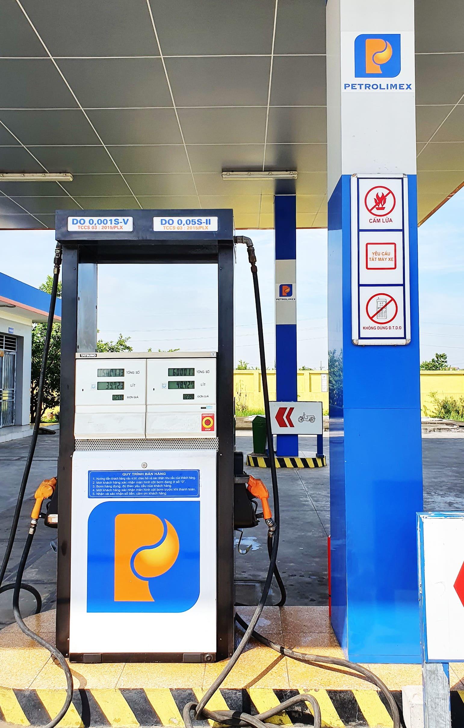 Dấu hiệu cơ bản nhận diện cửa hàng xăng dầu Petrolimex