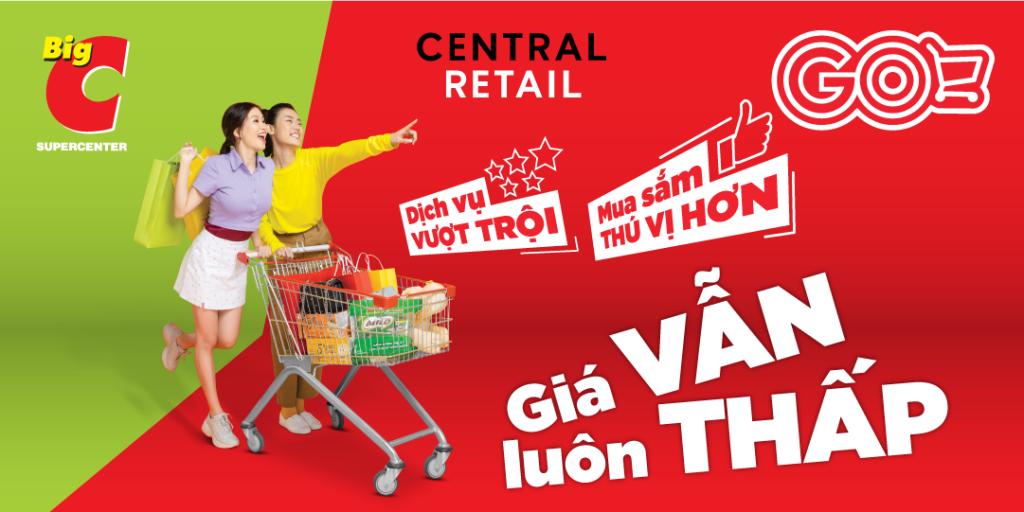 Hệ thống Đại siêu thị Big C đổi tên thành Đại siêu thị GO Tái định vị thương hiệu