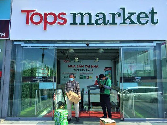 Big C Âu Cơ nay đổi tên thành Tops market