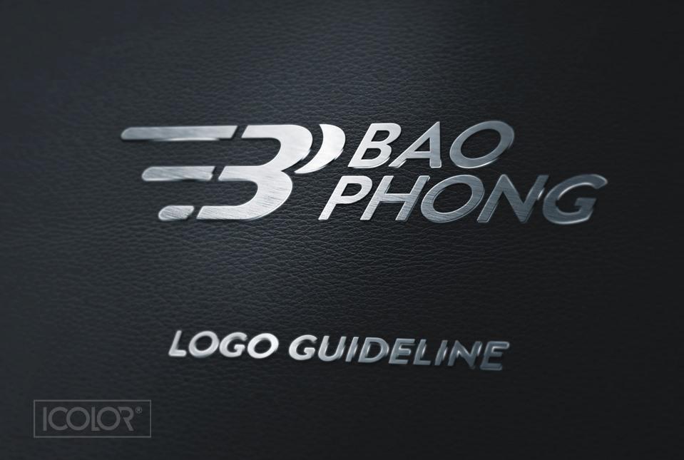 Thiết kế logo Công ty BĐS Bảo Phong 2021