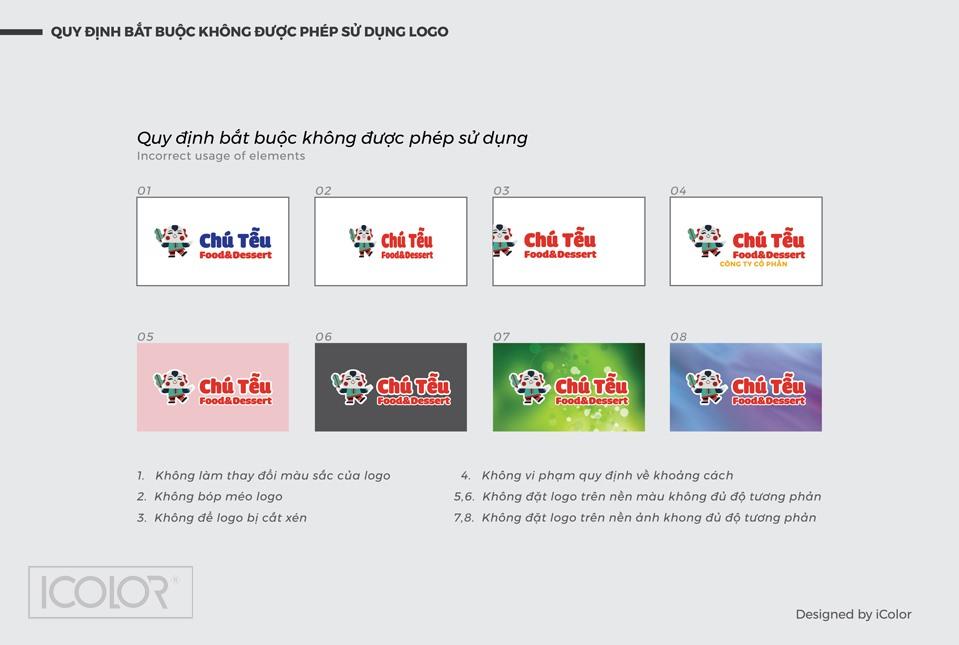 Một số hướng dẫn quy cách sử dụng logo. Cẩm nang sử dụng Logo