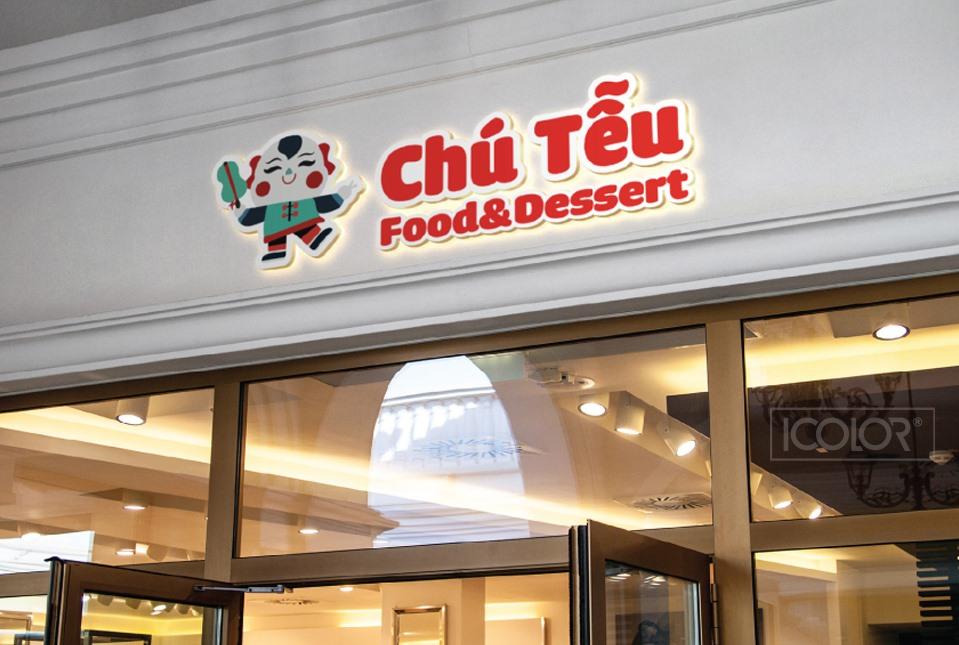 Thiết kế logo chuỗi cửa hàng chè Chú Tễu