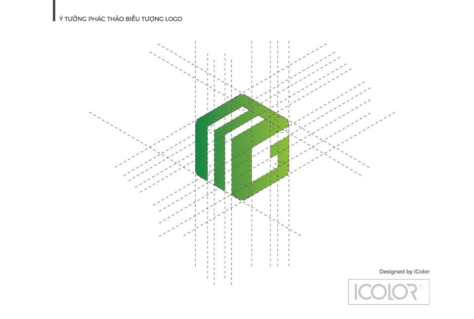Ý tưởng phác thảo biểu tượng logo