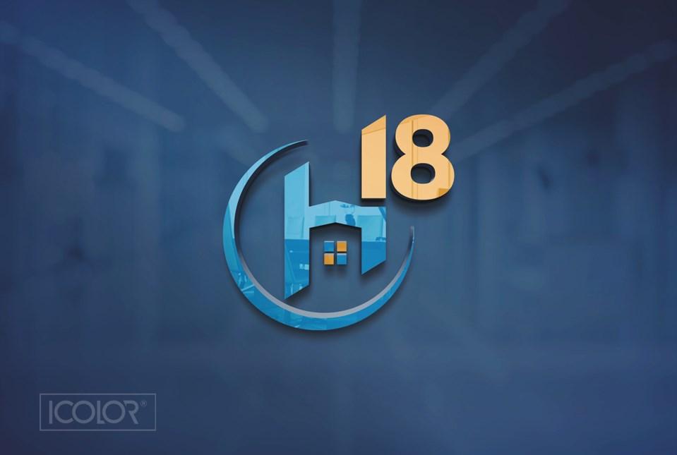 Thiết kế logo Công ty Cổ phần đầu tư H18