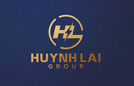 Thiết kế logo Công ty Huỳnh Lai Group 2021