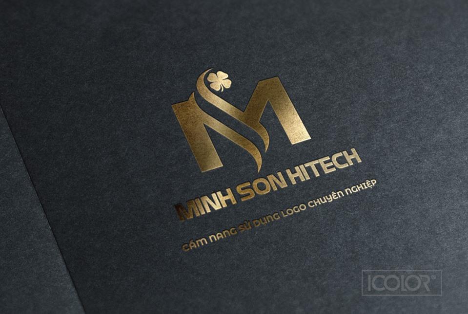 Thiết kế logo Công ty Minh Sơn Hitech