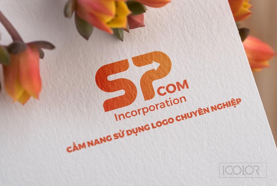 Thiết kế logo Công ty SPCOM INCORPORATION
