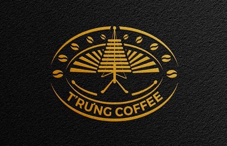 Thiết kế logo T'rưng Coffee 2021