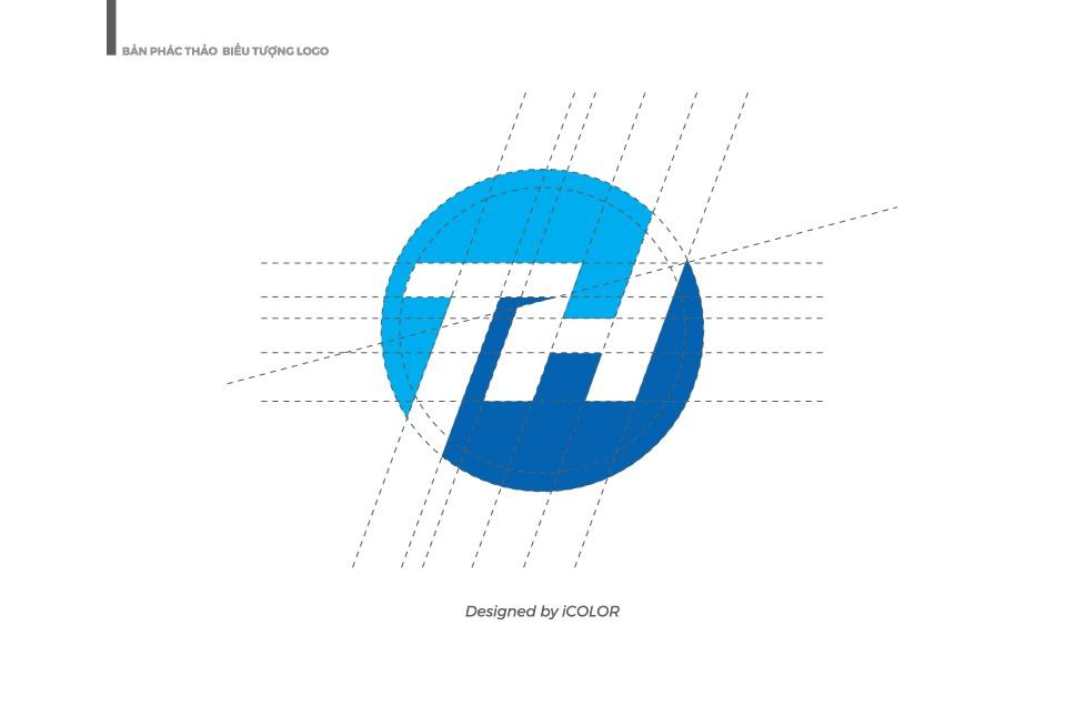 Bản phác thảo logo Công ty TNHH Nhựa Tây Hà
