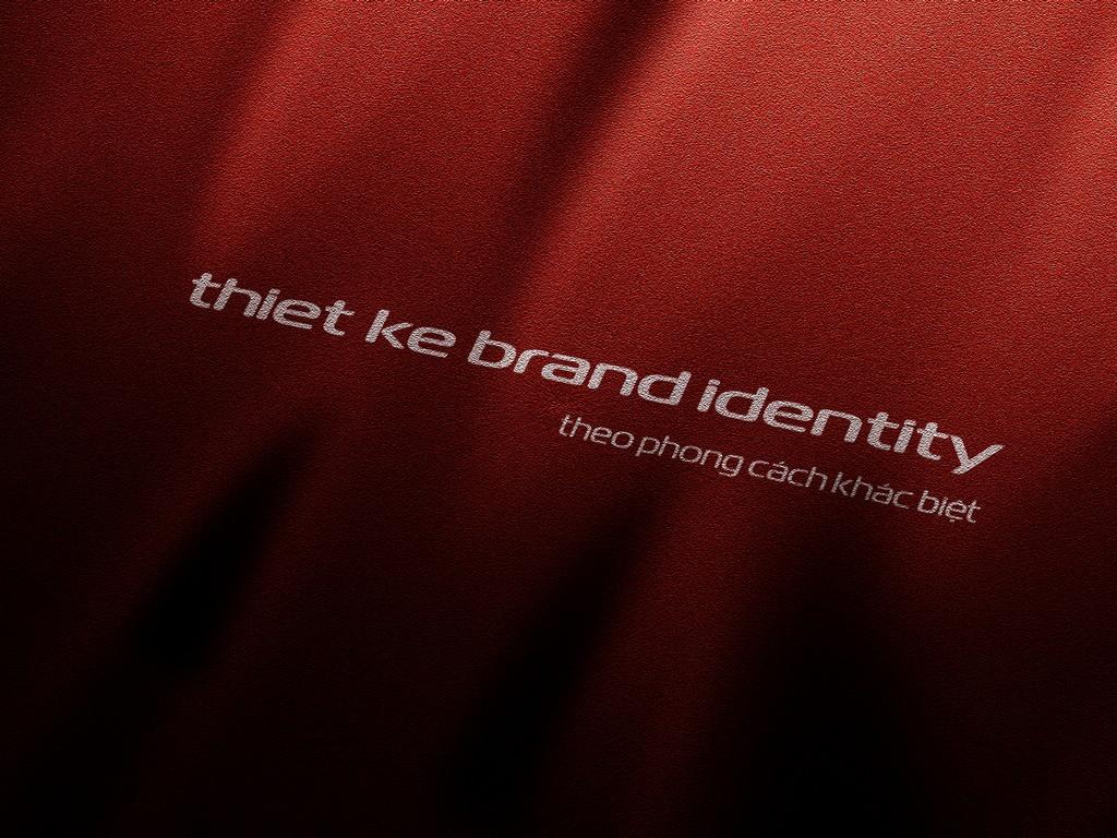 Thiết kế nhận diện thương hiệu theo phong cách khác biệt