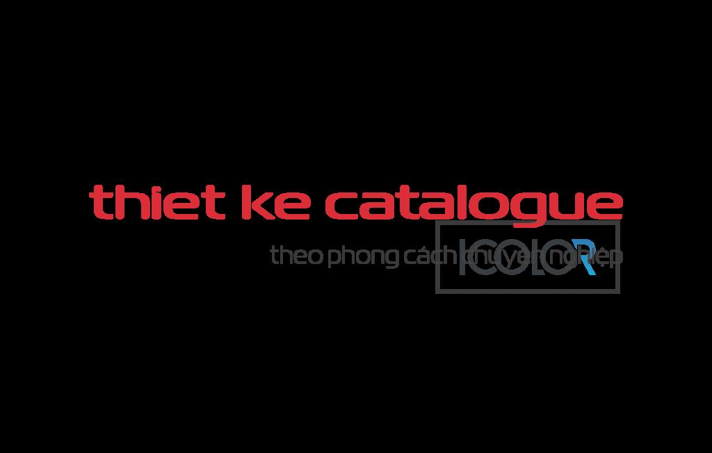 iColor thiết kế catalogue theo phong cách chuyên nghiệp