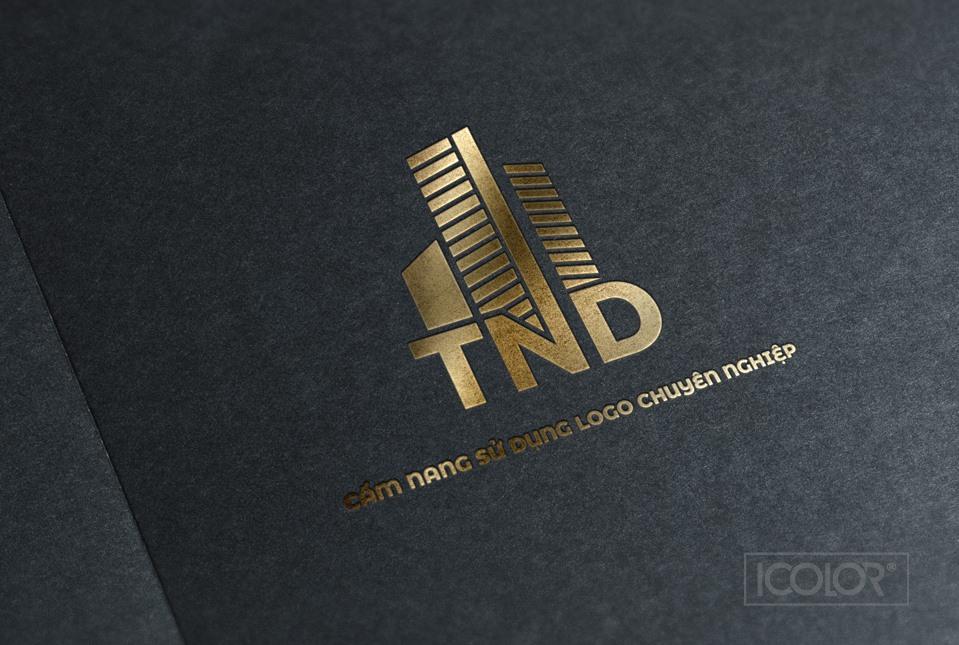 Thiết kế logo Công ty Cổ phần TND