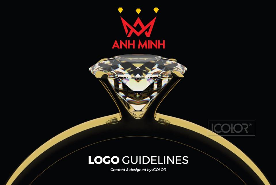 Thiết kế logo Tiệm vàng Anh Minh 2021
