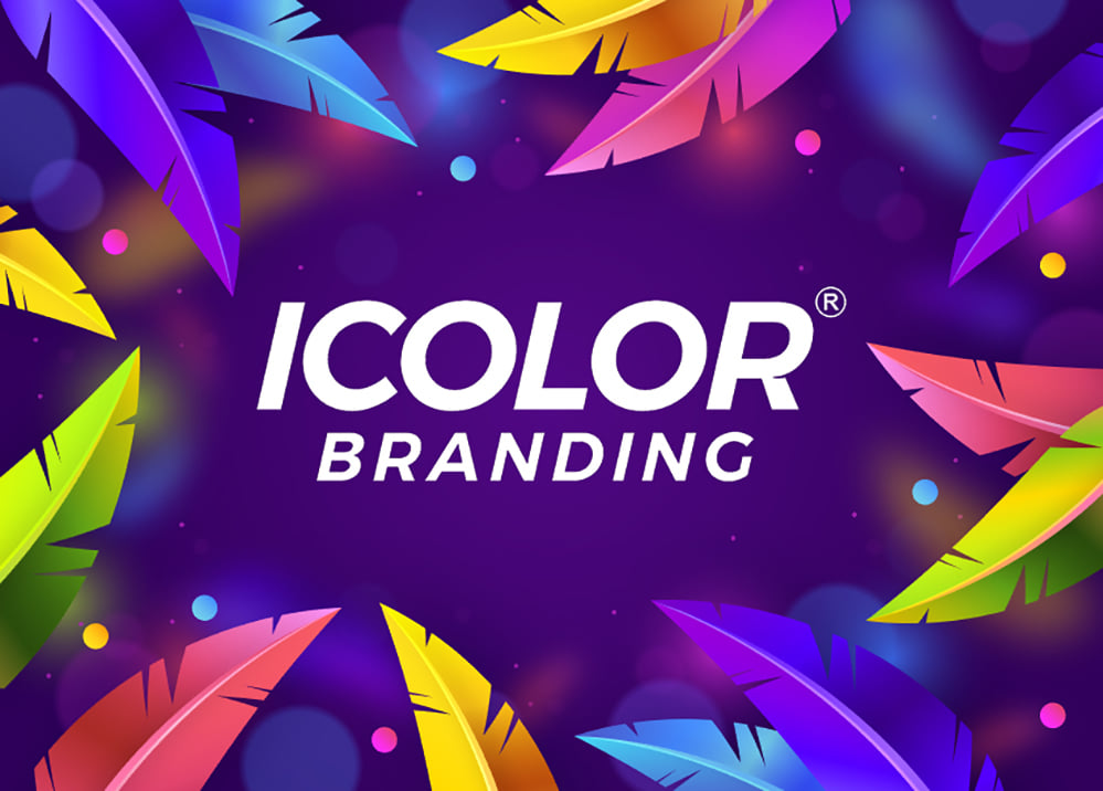 Bộ nhận diện thương hiệu iColor