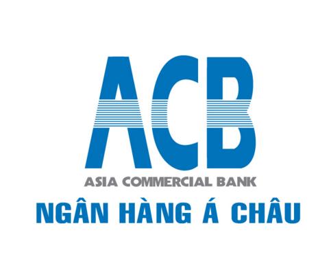 Logo cũ của ngân hàng Á Châu có mười hai gạch trắng kẻ ngang nằm ở trung tâm ba chữ ACB. Các vạch trắng này biểu trưng cho dòng luân chuyển tiền tệ trong các hoạt động ngân hàng. Điều này thể hiện mục tiêu cân bằng tài chính trong suốt mười hai tháng trong năm của ACB. Đây cũng là ước muốn các hoạt động kinh doanh này diễn ra thuận lợi.