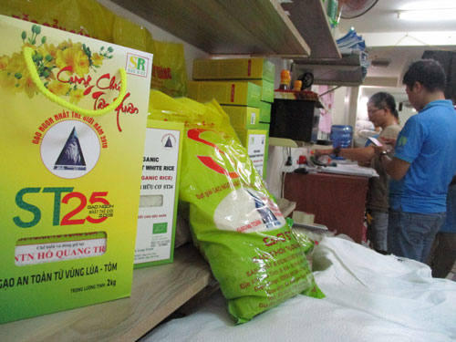 Gạo ST25 nguy cơ bị mất thương hiệu tại USA