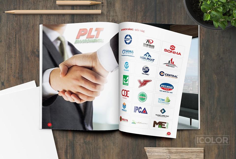 Thiết kế Profile công ty PLT
