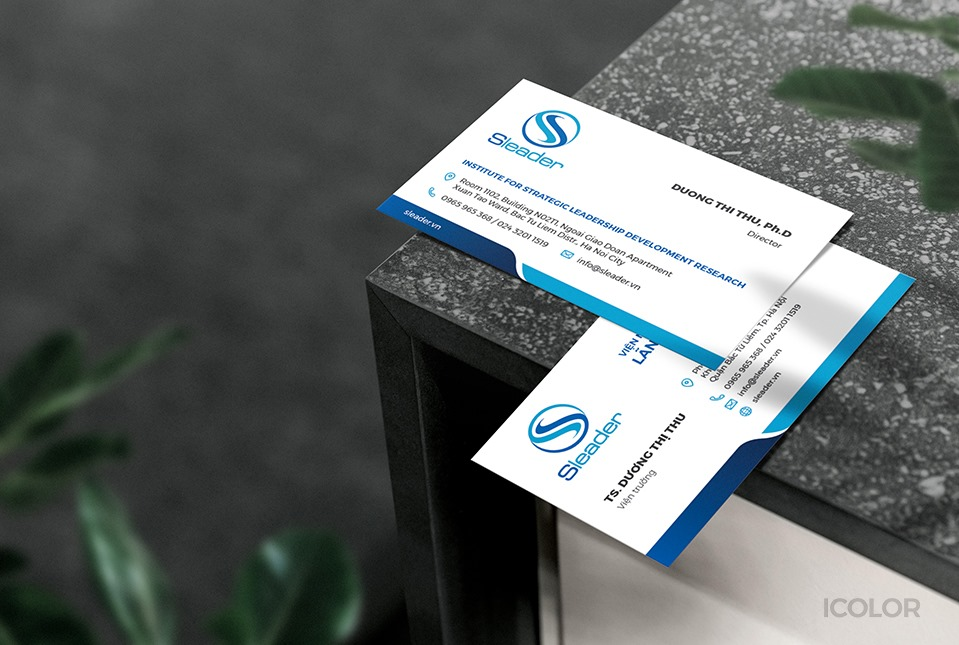 Card visit Sleader